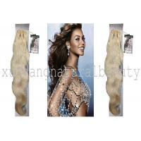 China Unprocessed 100 Indian Virgin Hair Extensions , Body Wave Human Hair wholesale