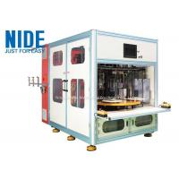 Buy cheap Automatic 4 working stations stator coil winding machine for Submersible generator from wholesalers