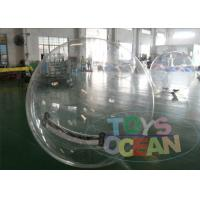 Quality Human Sized Hamster Ball Inflatable Walking Ball Floating Clear Colored for sale