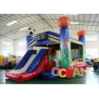 China Outdoor 5 In 1 All Star Arena Inflatable Bouncer Combo For Rental Lead Free wholesale