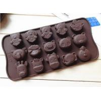 China China Wholesale Different Shape Funny Cartoon Animal Silicone Chocolate Mold wholesale