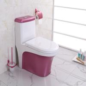 China New fashion Modern Ceramic colour Bathroom Sets wholesale