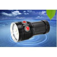 China MarsFire D-F5 6*T90 6500LM led dive flashlight , under water 100m 3 color fill light led torch on sale