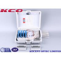 Buy cheap KCO-ODP-12W Optical 12 24 Ports PC ABS Material Waterproof Fiber Access Terminal Box FAT Distribution Box from wholesalers