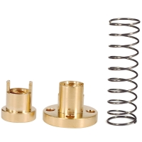 China Lead 8mm Pitch 2mm Anti Backlash Spring For 3D Printer T8 Lead Screw wholesale