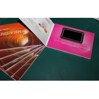 """China Rechargeable Battery Full colors digital video brochure for gift , 1.8 - 7"""" wholesale"""