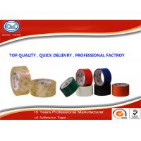 China Colored BOPP Packing Tape , 3M Single Sided Acrylic Adhesive Tape wholesale
