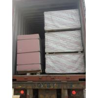 China Packing&Loading photos of Gypsum board  9/12mm with pallet in 40'HQ wholesale