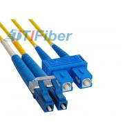 China LC to SC Fiber Optic Patch Cord Single Mode Fibre Optic Patch Leads for FTTH Network wholesale