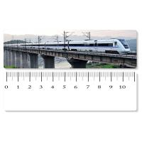 China Eco - Friendly Custom Printed Plastic Rulers / 3D Printing Service With Railway Pattern wholesale