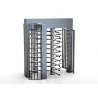 China 100 watts / 24V Single direction Security Access Control System Full Height Turnstile wholesale