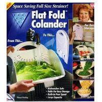 China Flat Folding Colander as seen on TV on sale