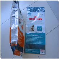 Quality Cat Food Packaging Gusset Pouches for sale
