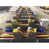 Buy cheap Lead Screw Adjustment Welding Turning Rolls / Self Aligning Welding Rotator from wholesalers