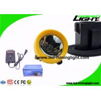 China 7.8Ah 10000 Lux Anti Explosive Underground Mining Cap Lamp with Cable OEM ODM Service wholesale