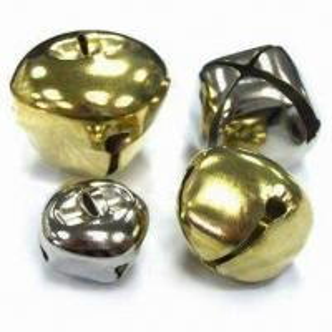 China X-shaped Jingle Bells with Brass-plated Finish wholesale