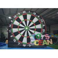 China 0.55mm PVC Tarpaulin Inflatable Sport Game Soccer Darts Football Darts 4 * 4m wholesale