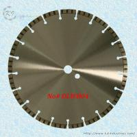China Laser Welded Diamond Turbo Saw Blade for Cutting Concrete and Granite - DLWB04 wholesale