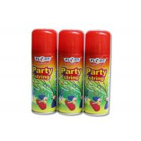China High Glossy Birthday Spray String ,silly string  Anti - Flammable Party Streamer Spray wholesale