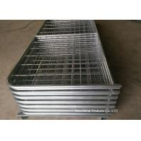 China Galvanized Pipe Frame Farm Mesh Fencing Easy Install With I / N Type wholesale