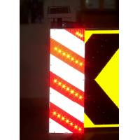 China Waterproof Solar Traffic Signs Ultra Bright LED Obstruction Marker wholesale