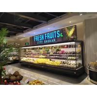 3.75M Vertical Open Display Refrigerated Merchandiser With Auto Defrosting