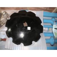 China 10mm /12mm Thickness Tractor Disc Harrow , Round Mn Disc Blade on sale