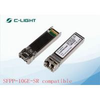 China 10GBASE-SR JUNIPER SFP Modules SFPP-10GE-SR Compatible , 300m MMF wholesale
