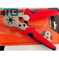 China 180mm Hand Crimping Tool 24-10 AWG , MG-8-6-6 Carbon Steel Non Insulated Crimping Pliers wholesale