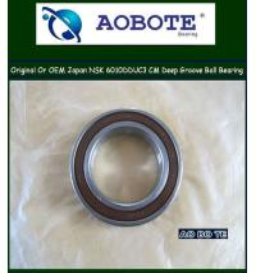China Deep Groove NSK Ball Bearings 6010DDUC3 For Molding Machine And Polishing Equipment wholesale