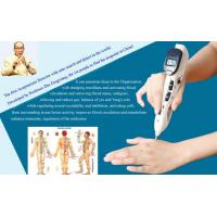 Quality Microcurrent Electronic Acupuncture Pen Ivory White With 3 Replaceable Probes for sale