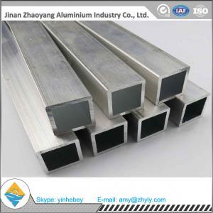 Quality Polished Aluminum Oval Tube Rectangular / Square Aluminum Profiles 6063 for sale