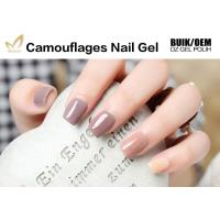 China No Nicks No Chips Camouflage Nail Gel Builder For Natural / False Nails wholesale