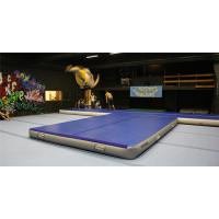 China Double Wall Fabric Material Inflatable Crash Mat Inflatable Gym Equipment 12*6m wholesale