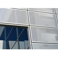 China Punching Hole Anodizing Aluminum Architectural Screen Panels Customizable For Walls on sale