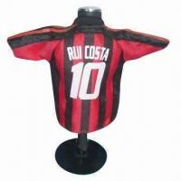 China Football toy doll shirt, made of 100% polyester wholesale