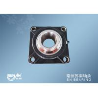 China 4 Bolt Flange Bearing / Ball Bearing Unit For Chemical Machinery SUCFPL208 wholesale