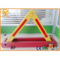 CE Triangle Fordable Car Locked in Private Car Park600mm Locking High 4.5kg Weight