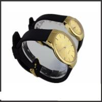 China Silicon Band Couple Wrist Watches Set , Branded Pair Watches For Couples wholesale