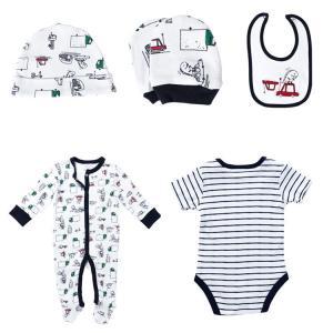 China Cotton Newborn Baby Clothes Set , Unisex Newborn Baby Clothes Gift Set wholesale