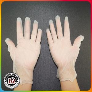 China Disposable pvc vinyl glove powder free on sale