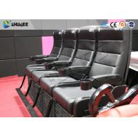 China Simple Operation 4D Cinema System 4DM Movement Seats / Independent Research Software wholesale