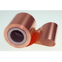 China 10 Micron High Performance Copper Foil Double Matter Side 500 - 5000 Meter Length wholesale