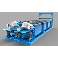 China 18° Flume Gradient Sand Washing Machine With Independent Hoisting Equipment wholesale