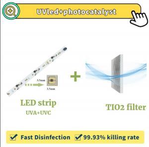 China UVC lamp air sterlization kit for mini Split ac wholesale