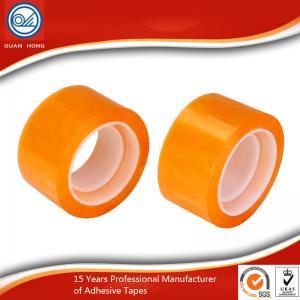 China Durable Viscosity BOPP Packaging Tape Yellowish Strength Practical wholesale