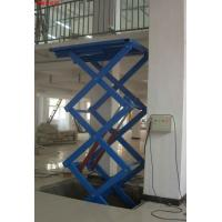 China 380v / 50hz Electric Scissor Hydraulic Lifting Equipment Lift Table wholesale