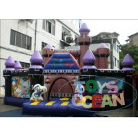 China Amusement Disney PVC Jumping Inflatable Playground For Kids Party Play wholesale