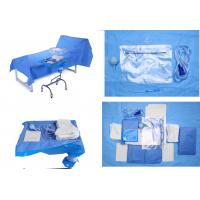Operating Room Sterile Blue Sterile Drape Sheets for Baby Bith Surgery