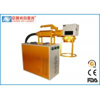 China Mini Handheld Marking Machine , Handheld Laser Marker For Seal Lock on sale